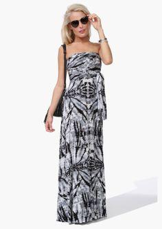 Changeable Tie Dye Maxi Dress