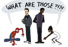 What are those t'challa shuri black panther tony stark Peter Parker iron man spiderman spider man<<those two have to meet (Peter and Shuri) Avengers Humor, Marvel Avengers, Wanda Marvel, Funny Marvel Memes, Dc Memes, Marvel Jokes, Marvel Dc Comics, Marvel Heroes, Teen Memes