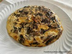 Frittata with trevisano chicory