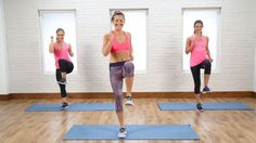 10-Minute Calorie Burning Cardio and Core Circuit | Class FitSugar