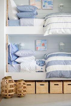 Home Bedroom, Kids Bedroom, Bedroom Decor, Bedroom Ideas, Bedroom Rustic, Boys Nautical Bedroom, Bedroom Curtains, Bedroom Windows, Chic Beach House
