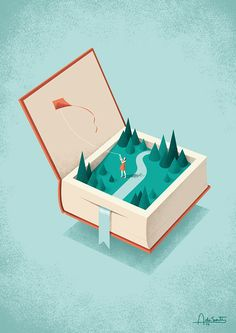 FLYING on Behance Another use of an isometric artwork, which is why it's used as a grid artwork.