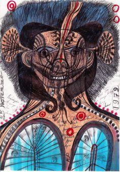 By Noviadi Angkasapura. Art Challenge, Folk Art, Disability Art, Naive Art, Intuitive Art, Art, True Art, Original Art, Outsider Art