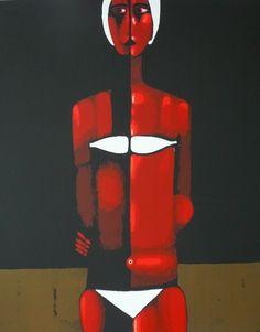 nowosielski - Szukaj w Google Figure Painting, Textile Art, Artsy Fartsy, Sculpture Art, Serenity, Superhero, Abstract, Illustration, Blog