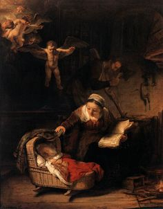 Rembrandt The Holy Family with Angels painting is available for sale; this Rembrandt The Holy Family with Angels art Painting is at a discount of off. Caravaggio, Rembrandt Paintings, Art Paintings, Rembrandt Art, Art Occidental, Oil On Canvas, Canvas Art, Most Famous Paintings, Baroque Art