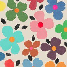 dogwood 1 Art Print by garimadhawan Textile Patterns, Textile Design, Flower Patterns, Print Patterns, Retro Fabric, Poster Prints, Art Prints, Mid Century Modern Art, Rainbow Print
