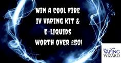Enter today for your chance to win this fantastic prize from The Vaping Wizard…