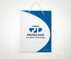 Protecnos - Máquinas para la Inyección de Termoplásticos.  Bolsa  - www.versal.net • Diseño Gráfico • Identidad Visual Corporativa • Publicidad • Diseño Páginas Web • Ilustración • Graphic Design • Corporate Identity • Advertising • Web Pages • Illustration • Logo