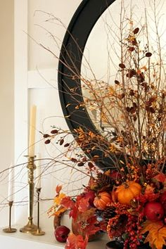 Fantastic mantle for fall.