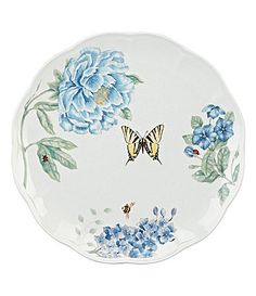 Lenox Butterfly Meadow Blue Dinnerware
