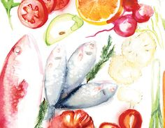 """Check out new work on my @Behance portfolio: """"Food Illustrations For Eat Healthy Magazine"""" http://be.net/gallery/37196231/Food-Illustrations-For-Eat-Healthy-Magazine"""