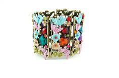 beautiful flower bracelet #accessories
