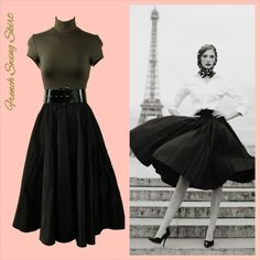 Just Landed - French Riviera Skirt #French  #love #JoolsCouture #1950s #screensiren #pinup #vintage #Riviera  Shop Riviera > http://joolscouture.com/riviera/