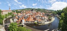 Or, Cesky Krumlov, a village in Southern Czech Republic that is so magical, you'll feel like you're in a fairy tale as you wander the streets. | 27 Pictures That Prove The Czech Republic Will Be The Most Beautiful Place You Ever Visit