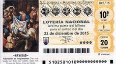 El maestro de Murillo ilustra el décimo de la Lotería de Navidad 2015