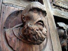 Lord Voldemoort on Santa Croce door?