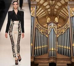 Fashion Magazine Models: Jean Paul Gaultier : Couture s/s 2009 Jean Paul Gaultier, Fashion Design Drawings, Fashion Sketches, Art Sketches, Architect Fashion, Fashion Architecture, Architecture Sketches, Look Fashion, Fashion Art