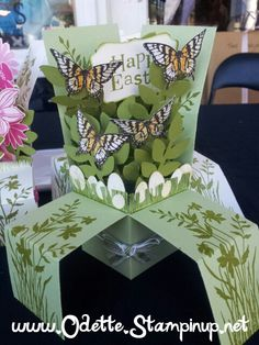 Its a close up of my original pop up box template... different flowers to what I originally designed it with, but hey, lets face it, the design options are endless... just look at what is now on the web :)