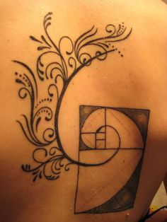 math nerd tattoo by molly mahoney, via Flickr. Kinda sloppy-looking but it's a cool idea, with the vines growing off of it.