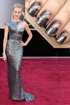 Naomi Watts at the Oscars Ladyfingers