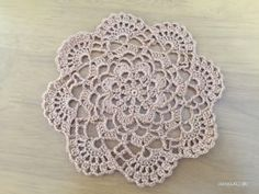 Mini Cluster Doily – Free Crochet Patterns ATELIER *mati*