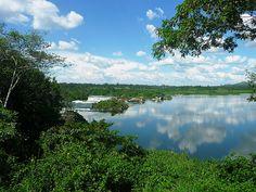 Jinja (Uganda, East Africa) - Source of the Nile. Hotel recommendation: Gately on Nile, lovely British domicile
