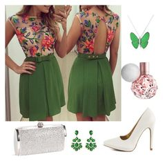 """""""Untitled #281"""" by milicagakovic ❤ liked on Polyvore featuring Qupid, Amrita Singh and Bling Jewelry"""