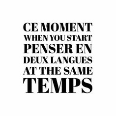 This is so me only with English and Dutch of course.  #language #bilingual #french #pradonnyfrench #english #type #typo #typography #illustration #illustrator #design #designer #black #white #minimal #monochrome