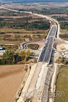 fotografoa lotnicza, zdjęcia z inwestycji, budowa dróg