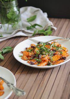 Coconut Roasted Carrot Salad