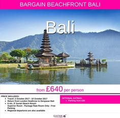 @balitravellers from £640 pp *regional departures available* #lovebali call FREE 0800 975 7584 Your Personal Travel Expert here 2 help