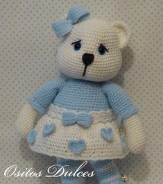 JULIET #Ositos Dulces #Doll crochet #Amigurumisdolls #Crochet #Muñeca a crochet #Ganchillo #dollcrochet #Amigurumis #osita a crochet #Amigurumipattern #Doll #Dollspatterns #Amigurumibear #Teddy bear