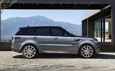 2017 Range Rover Sport side view