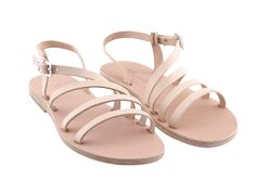 Beneverro Keleo #sandals #natural | #handmade, vegetable tanned vachetta #leather, #madeingreece