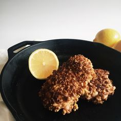 Granola Crusted Crispy Chicken
