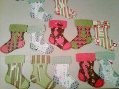 Stockings by stamperjen - Cards and Paper Crafts at Splitcoaststampers