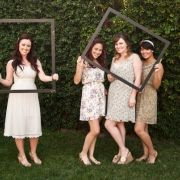 photo booth at bridal shower with cute props! @Nicole Pucciarelli you KNOW we're gonna have to do this!