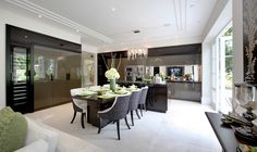 Fantastic dining table and chairs | Stephen Clasper Interiors | Saddlestone