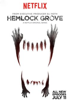 Official Artwork for Hemlock Grove Season 2. Despite what some other horror fans might say, I enjoyed Season 1 -- even with Femke's awful approximation of an English accent.