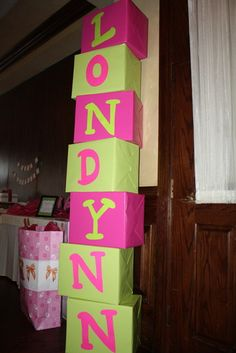 Cute idea on a Birthday entrance or other holiday party