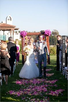 outdoor ceremony ideas   CHECK OUT MORE IDEAS AT WEDDINGPINS.NET   #weddings