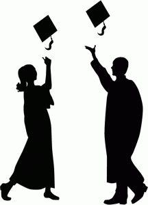 Silhouette Design Store - View Design #42050: congratulation graduate
