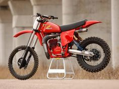 Tricked out 1978 Honda CR250R