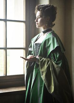 Milady de Winter - Maimie McCoy in The Musketeers, set in the 1630s (BBC TV series 2014-).