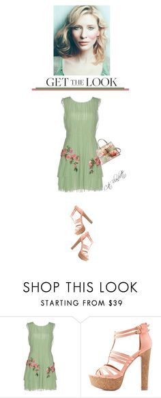 """""""Fave Aussie Actress'"""" by dianefantasy ❤ liked on Polyvore featuring Alberta Ferretti, Charlotte Russe, Gucci, GetTheLook, polyvoreeditorial and cateblanchett"""