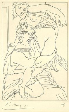 Picasso's Rare 1934 Etchings for a Racy Ancient Greek Comedy | Brain Pickings