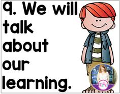 The 10 Most Important Things To Teach During the First Week of School (My Silly Firsties) Classroom Behavior, Classroom Posters, Science Classroom, School Classroom, Classroom Management, Classroom Organization, Classroom Ideas, Eyfs Classroom, Classroom Routines