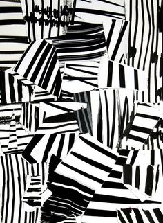 Laurent Koller Kollage ink and paper - this would be a great collage art project to do with kids