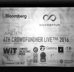#CrowdFundHer starting in an hour - sold out!