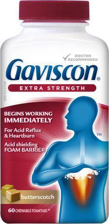 Gaviscon Tablets Ex Butterscotch 60 S Butterscotch Walmart Canada Tablet